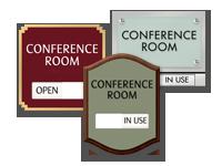 conference room door signs intersign